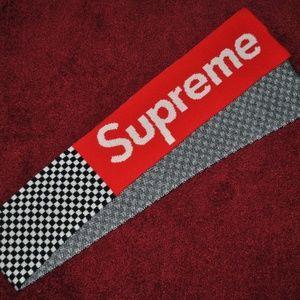 Supreme Taxi Scarf F/W 2011